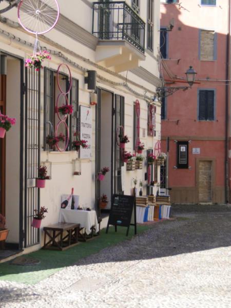 Ulice Alghero