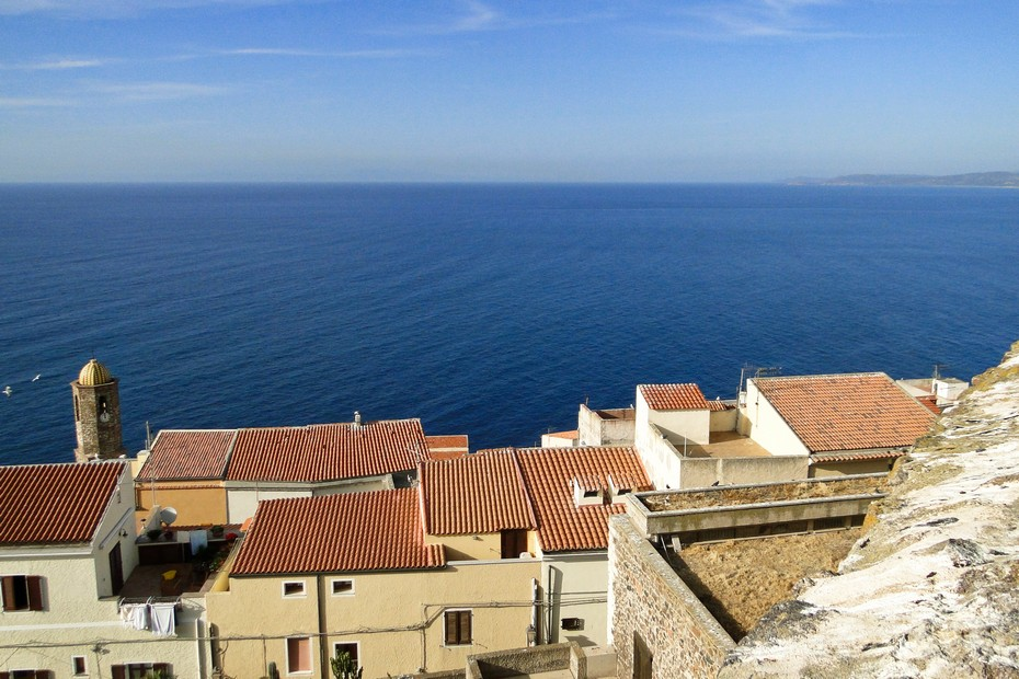 Castelsardo - widok na morze