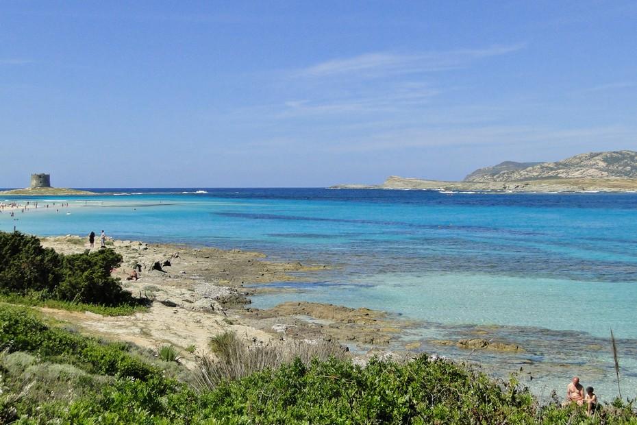 Plaża La Pelosa na Sardynii