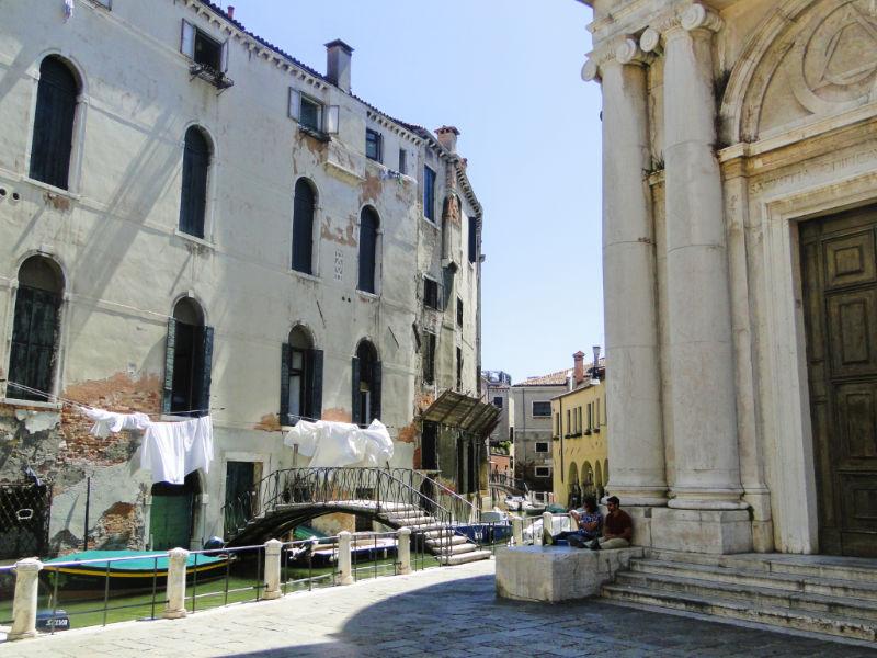 Wenecja, przypadkowy kanał
