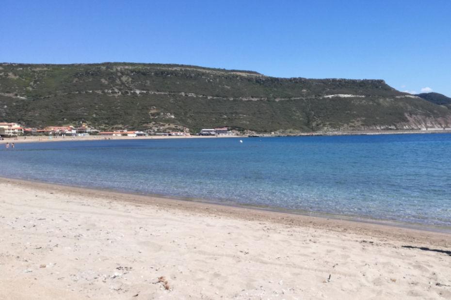 Plaża w Bosa