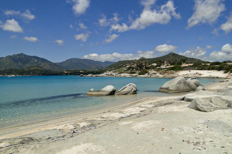 Plaża del Riso, Sardynia.