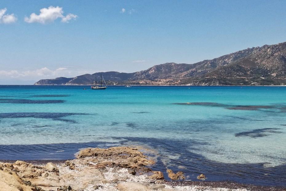 Plaża na Sardynii.