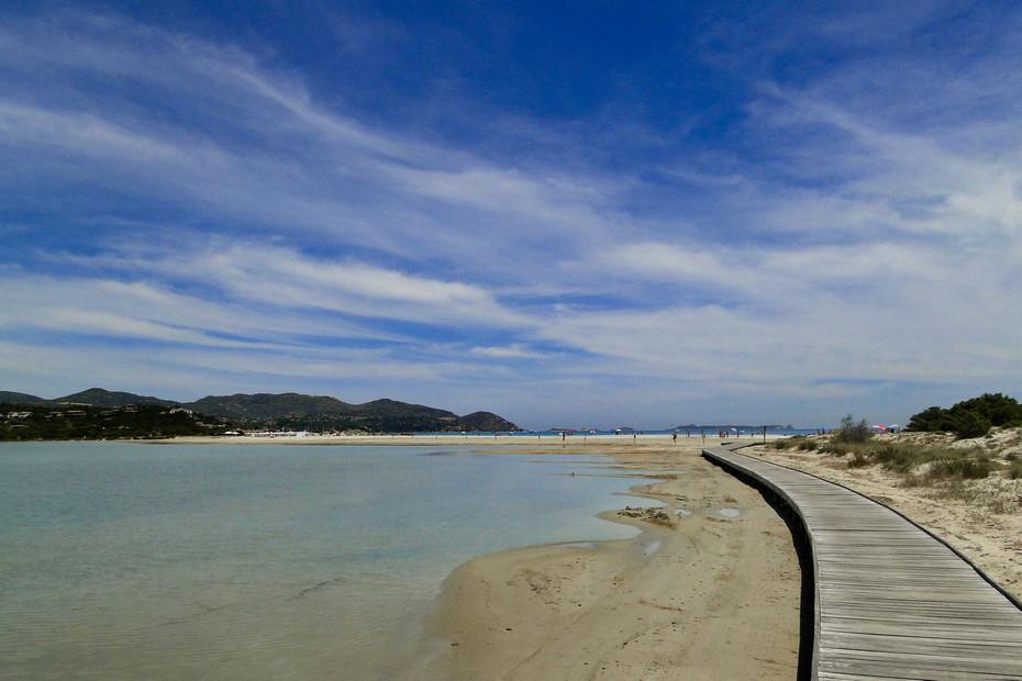 Plaża Porto Giunco - Villasimius.