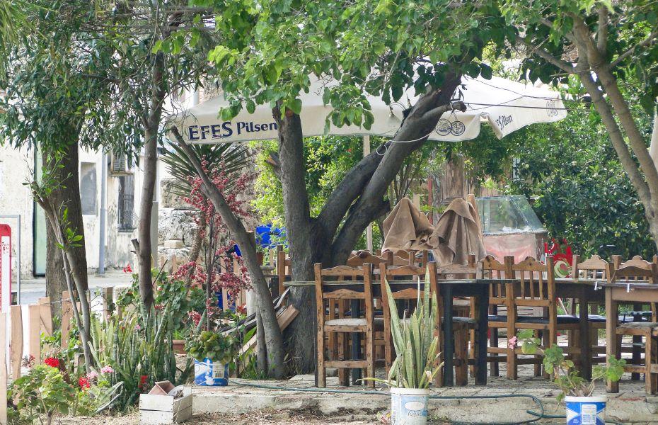Famagusta - knajpa
