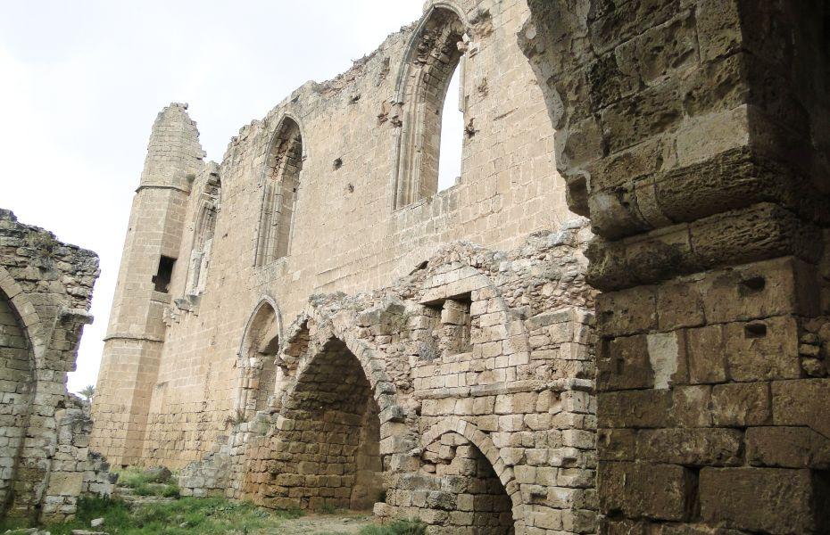 Ruiny kościoła - Famagusta
