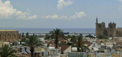 Famagusta - panorama