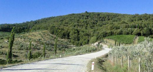 Samochodem do Toskanii