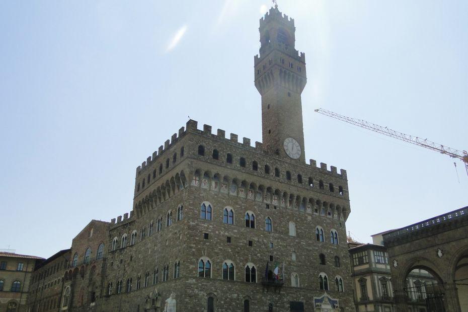Palazzo Vecchio, Florencja, Włochy