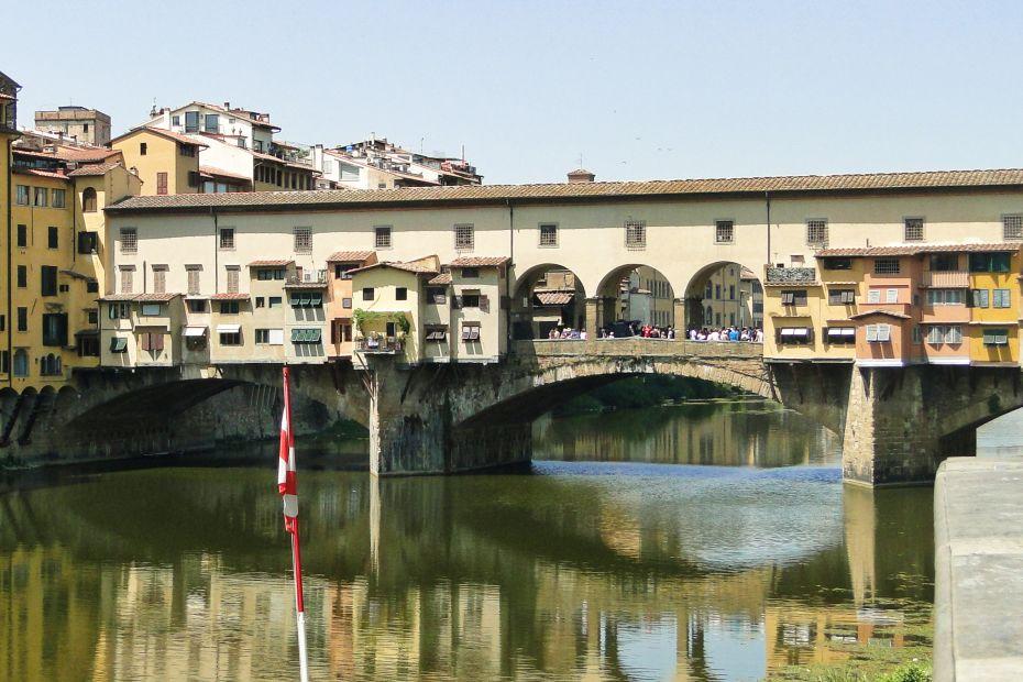 Most Złotników, Florencja, Włochy