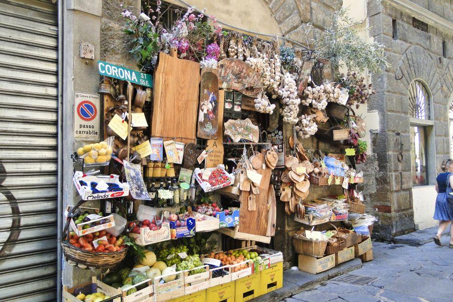 Stragan, Florencja, Włochy