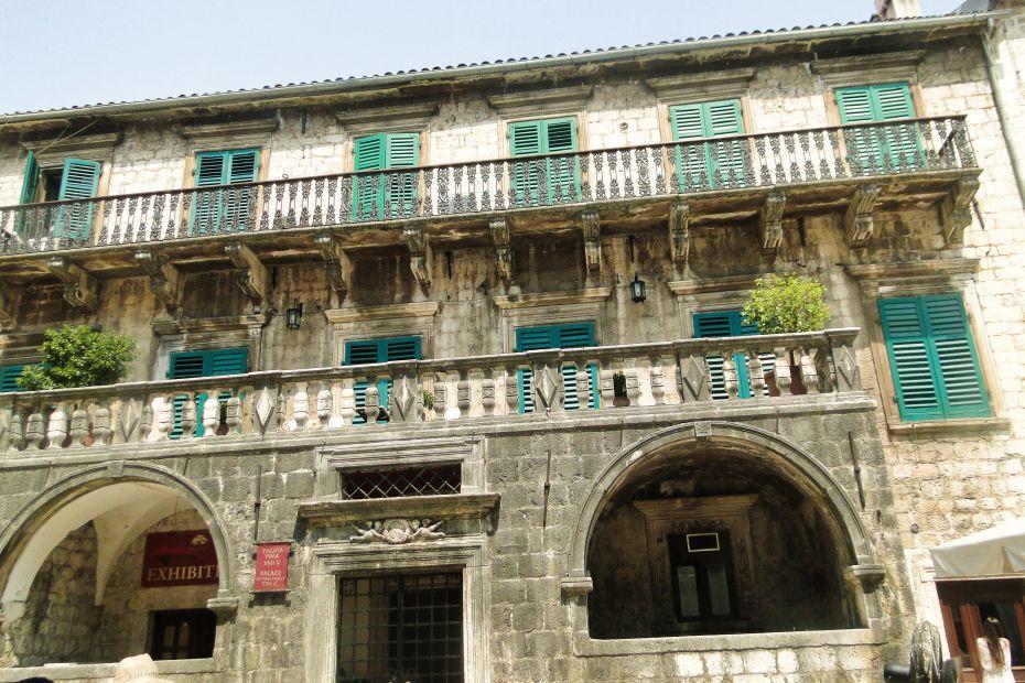 Zabudowa miasta, Kotor, Czarnogóra