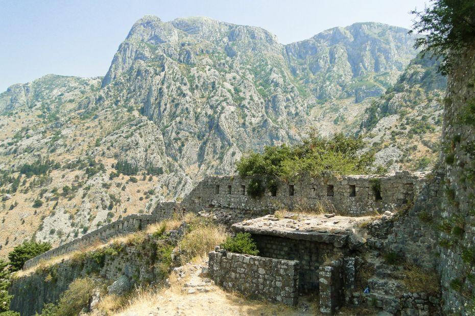 Mury miasta Kotor