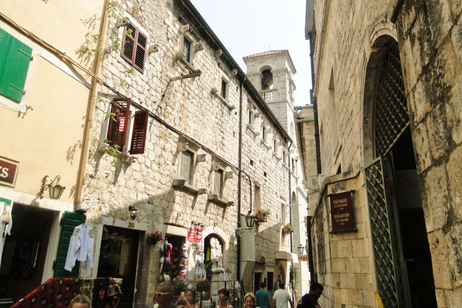 Ulica w Kotorze