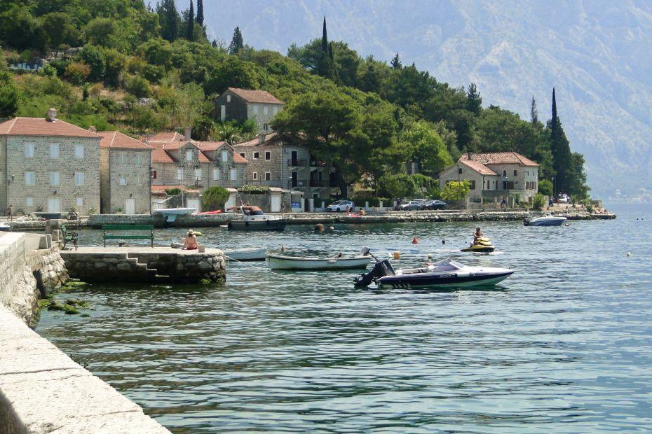 Perast - kraina łódek