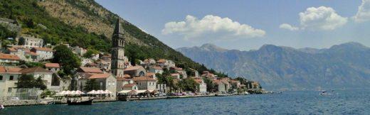 Perast nad Zatoką Kotorską