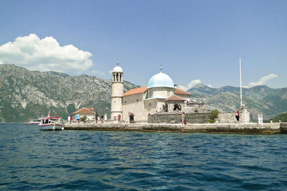 Jedyna sztuczna wyspa na Morzu Adriatyckim