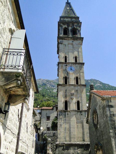 Perast, kościół św. Mikołaja