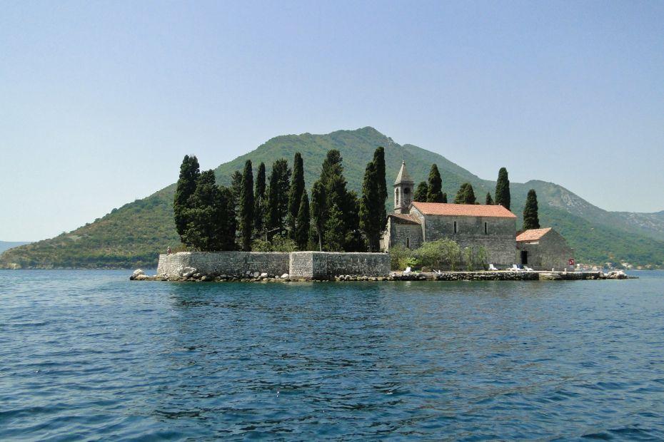 Wyspa świętego Jerzego, Perast
