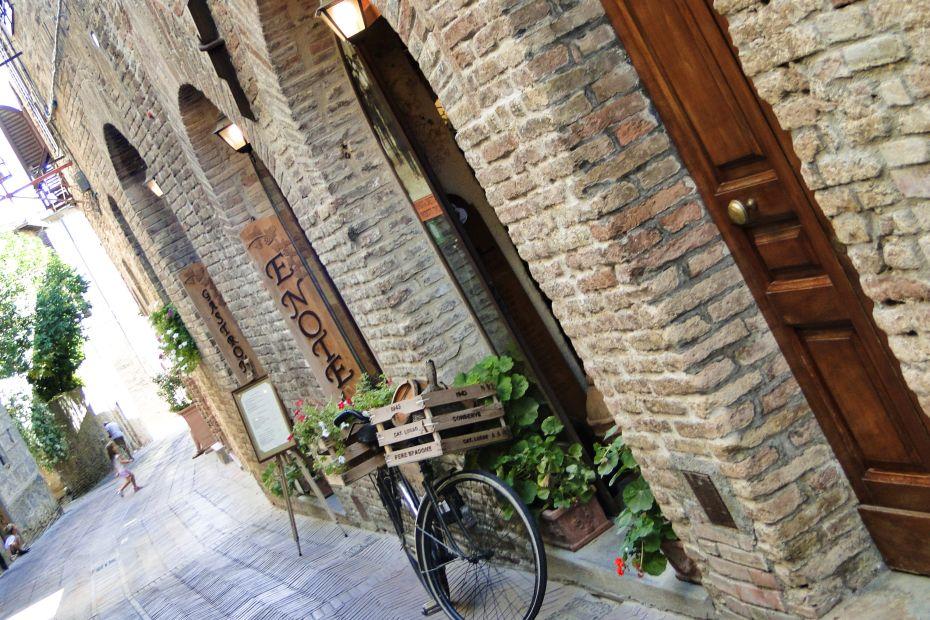 San Gimignano - zabytkowa starówka