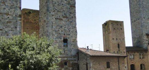 San Gimignano - Wieże