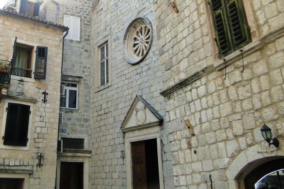 Kotor w Czarnogórze, zabudowa miasta