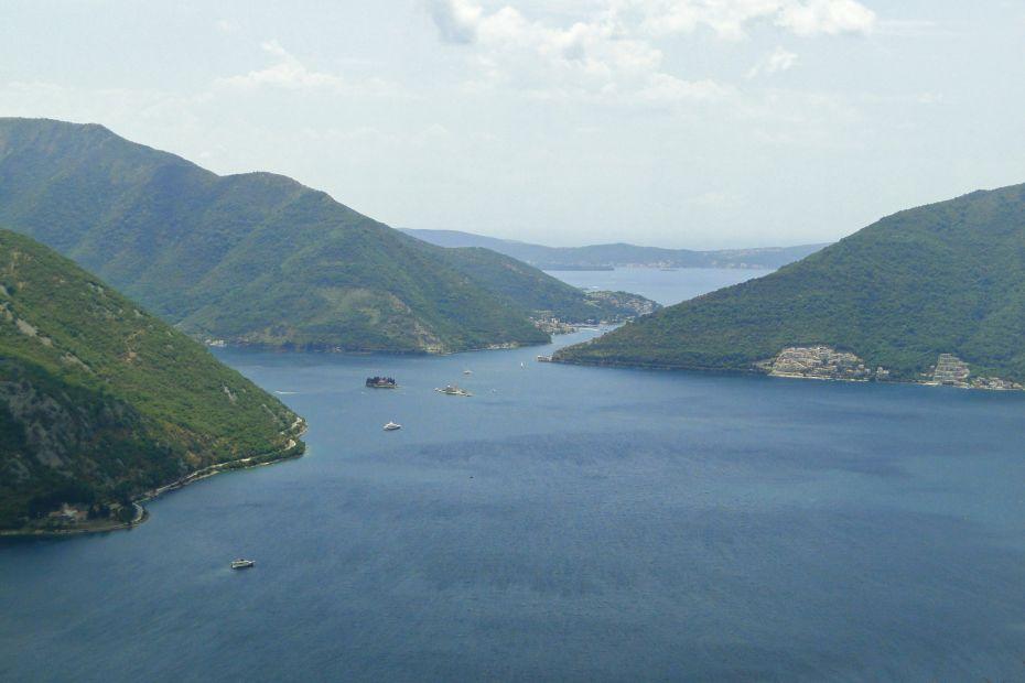 Czarnogóra, widok na pocztówkę