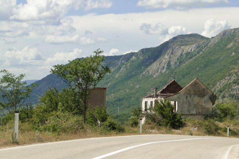 Bośnia i Hercegowina - zniszczenia