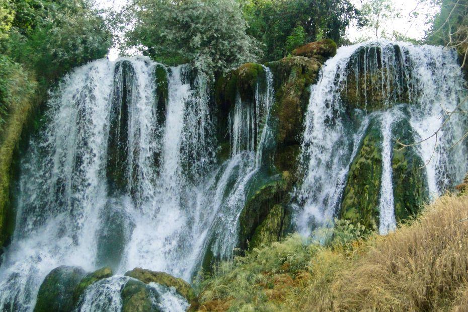 Wodospady Kravica z blliska