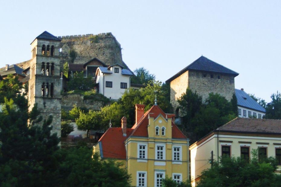 Zamek w Jajcach.