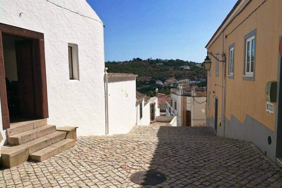 Ulica w Silves, Algarve