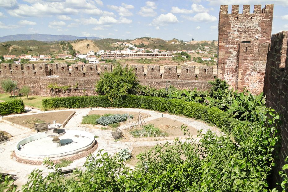 Zamek w Silves, Portugalia, Algarve