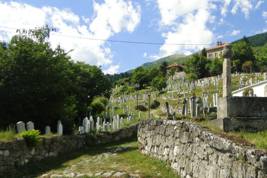 Travnik, cmentarz muzułmański
