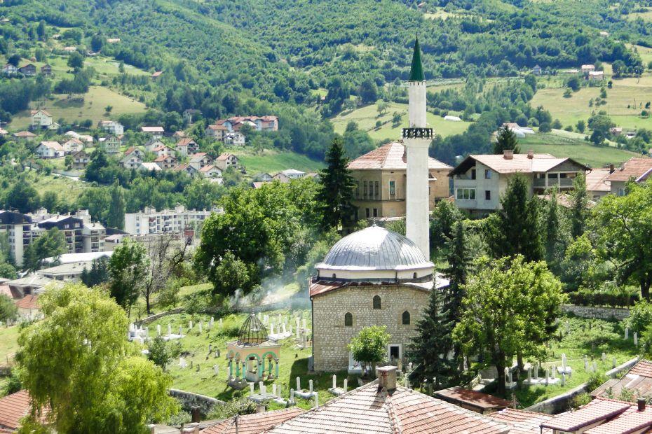 Travnik, Zielony meczet
