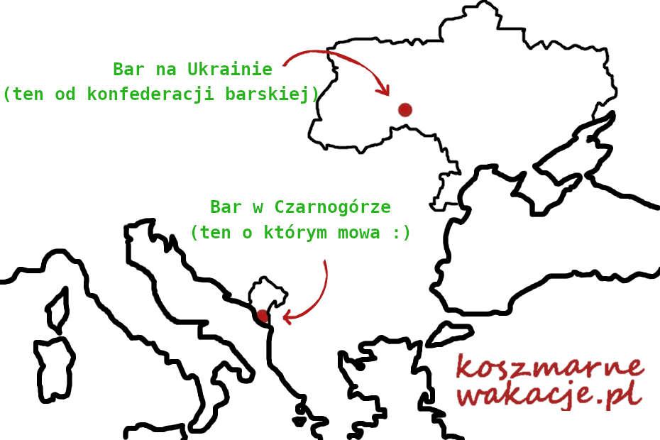 Barowa mapa